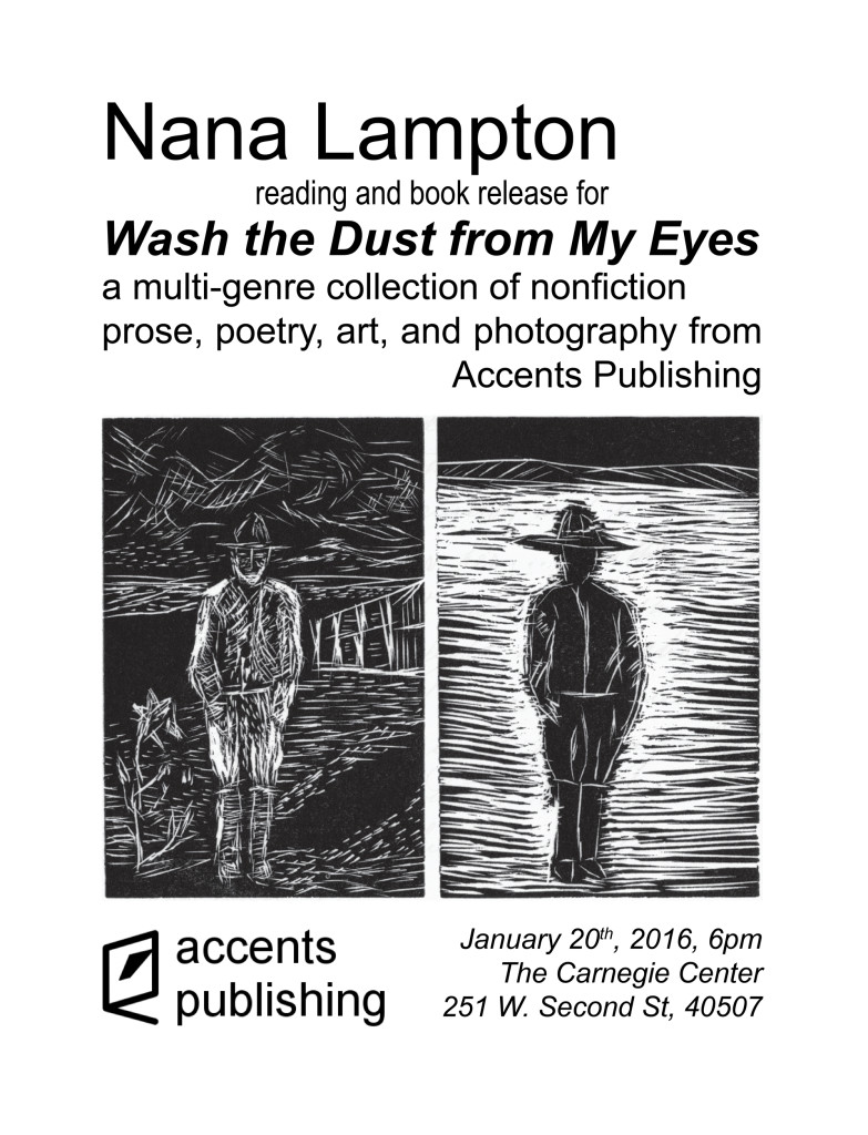 Nana Lampton Reading on January 20th 2016 at the Carnegie Center for Literacy and Learning