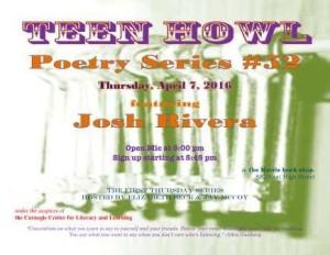 Teen Howl 52 with Josh Rivera